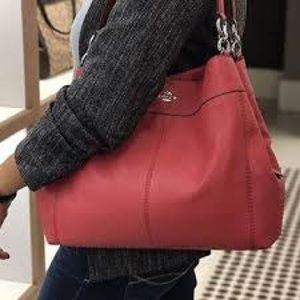 eac80ae9e1 Coach Bags - Coach F57545 Lexy Shoulder Bag in Pebble Leather